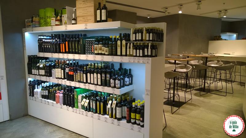 Shopping Excelsior comida tipica italiana vinhos