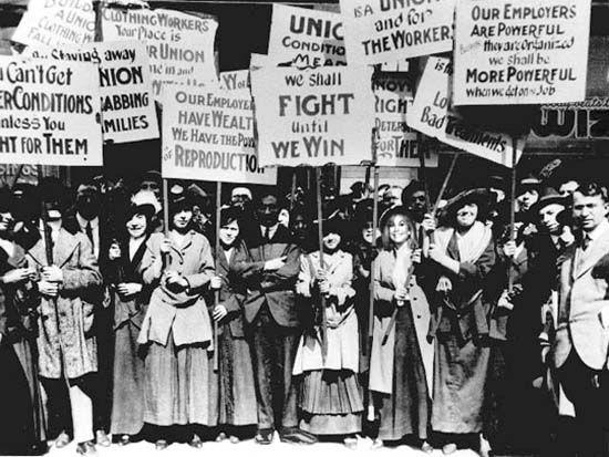 Luta pelos direitos das mulheres