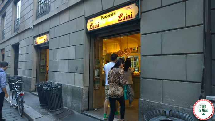 Milão econômica - Luini Panzerotti