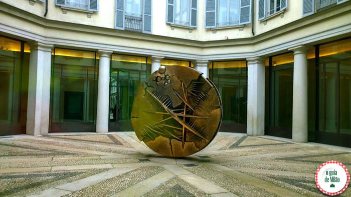 Milão econômica - Museu Gallerie d'Italia