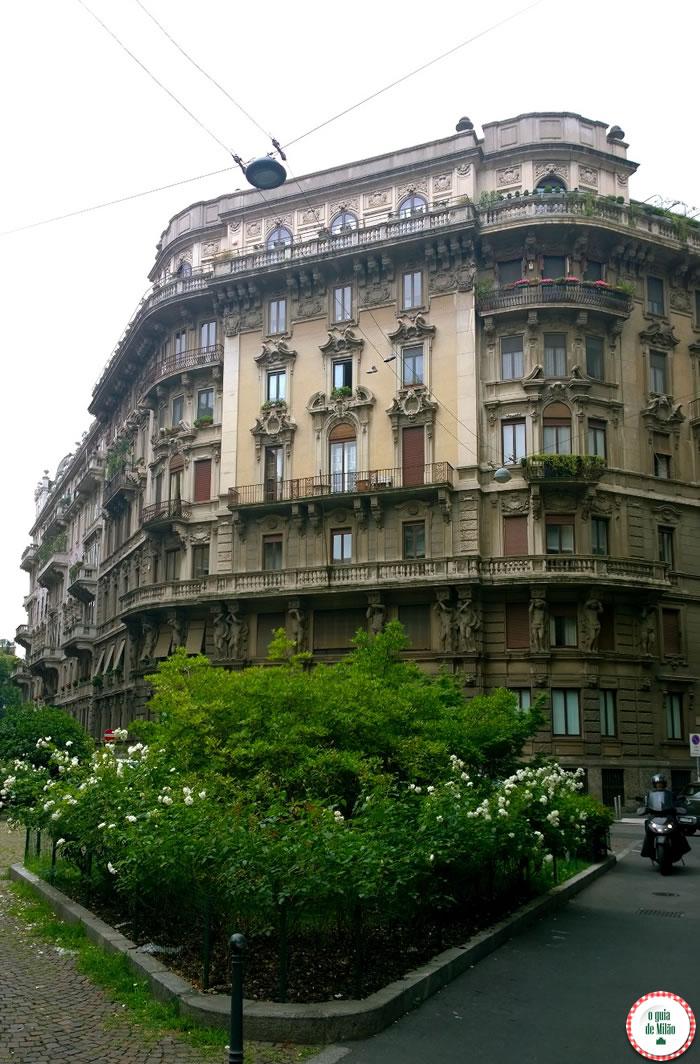 O que fazer em Milão - Passeios Turísticos Quadrilátero do Silêncio em Milão