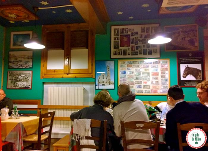 Onde comer em Milão - Osteria al Rifugio Pugliese i Muciaccia 2