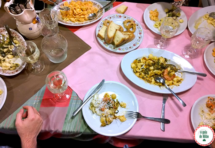 Onde comer em Milão - Osteria al Rifugio Pugliese i Muciaccia 3