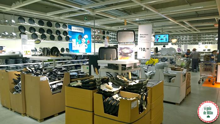 Onde comprar artigos para a casa em Milão - Ikea 2