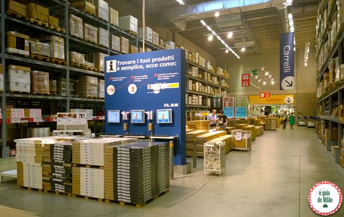 Onde comprar artigos para a casa em Milão - Ikea 3