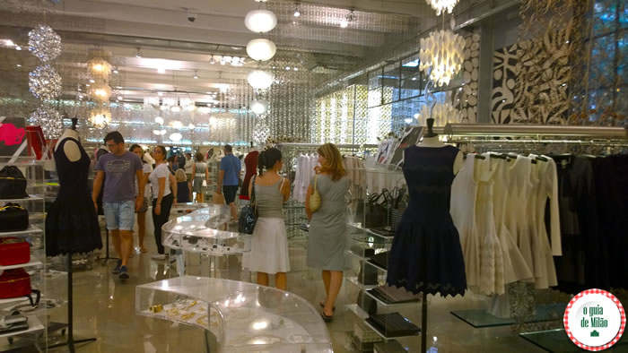 Onde fazer compra em Milão - 10 Corso Como Milão 5