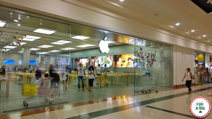 Shoppings em Milão - Fiordaliso Apple Store Milão