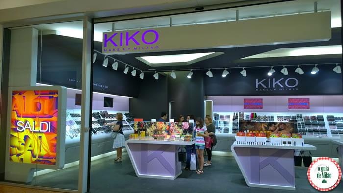 Shoppings em Milão - Fiordaliso loja Kiko