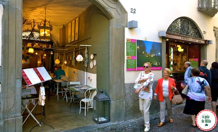 Restaurantes em Bérgamo