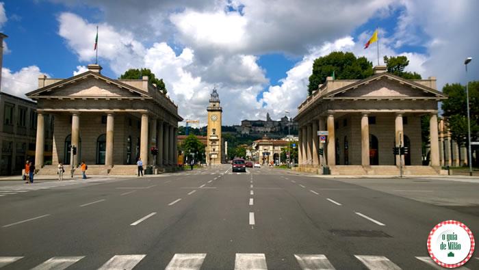 Turismo em Bérgamo cidades da Itália para visitar depois Milão