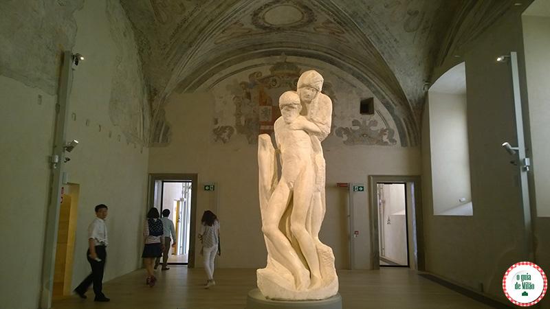 A Pietà Rondanini de Michelangelo