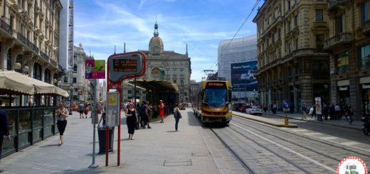 transporte público em Milão na Itália
