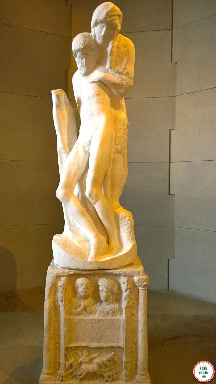 Museu de Arte Antiga - Pietà Rondanini