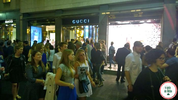 Vogue Fashion's Night Out Milão 2014 - Gucci