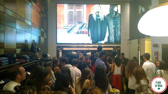 Vogue Fashion's Night Out Milão 2014 - Liu Jo