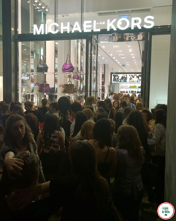 Vogue Fashion's Night Out Milão 2014 - Michael Kors