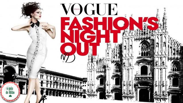 Vogue Fashion's Night Out Milão 2014