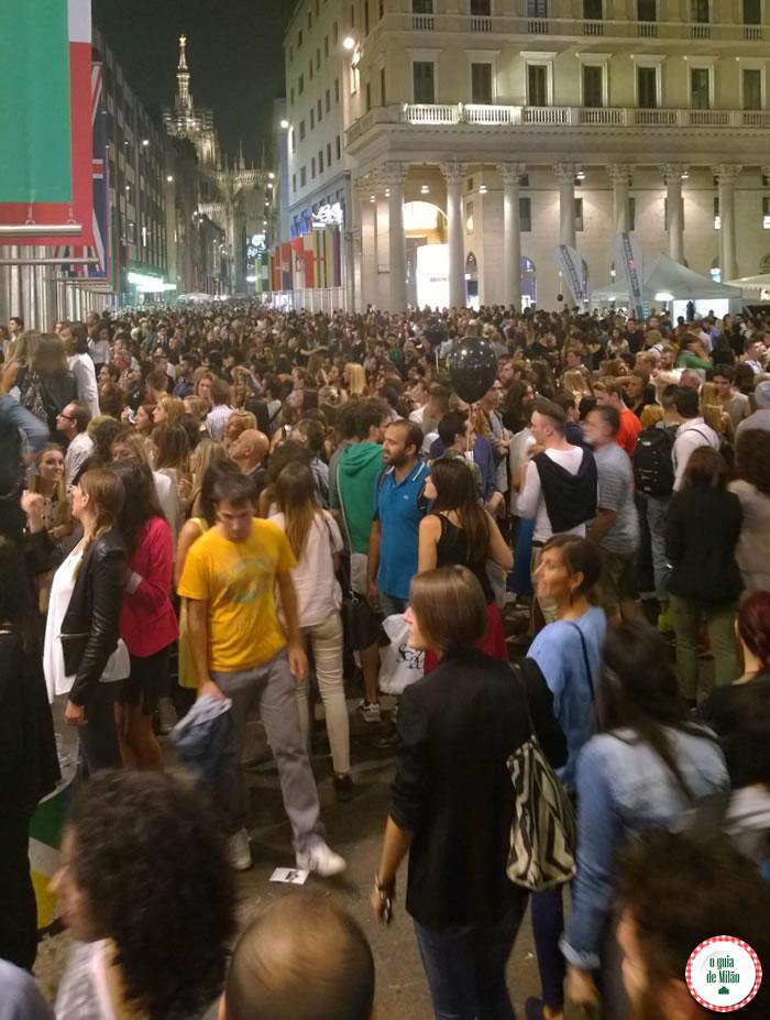 Vogue Fashion's Night Out Milão 2014 - Corso Vittorio Emanuele