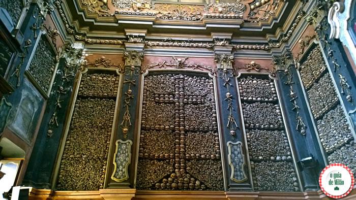 Capela de ossos igreja San Bernardino Milão 6