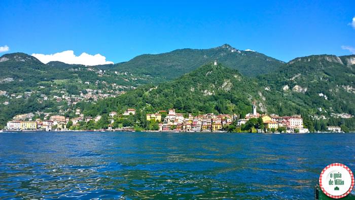 A romântica Varenna no lago de Como