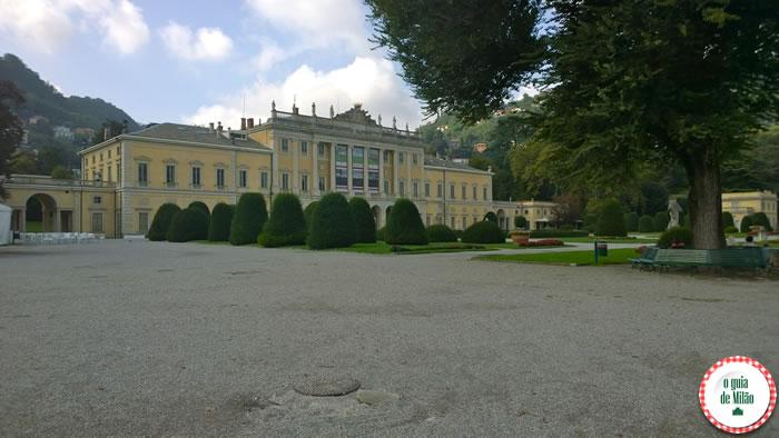 Viajar pela Itália - turismo em Como - Villa Olmo