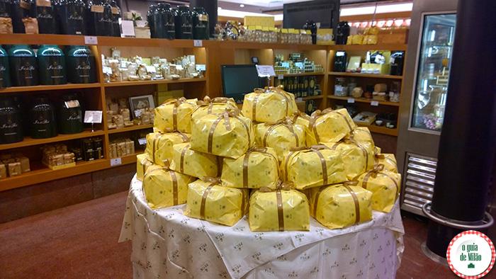 Peck onde comprar o típico panettone italiano em Milão