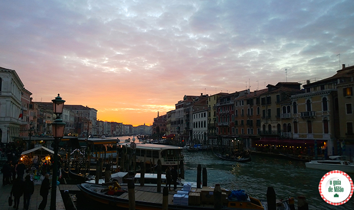 Barcos em Veneza