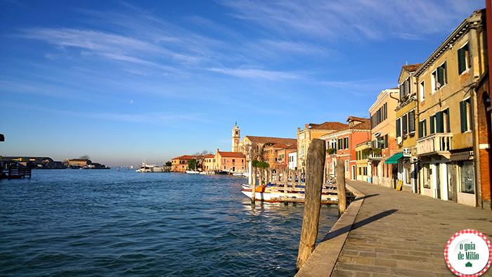 Como ir de Veneza a Burano Murano e Torcello Turismo em Veneza