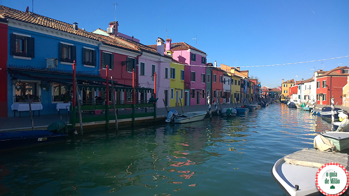 As casas coloridas de Burano