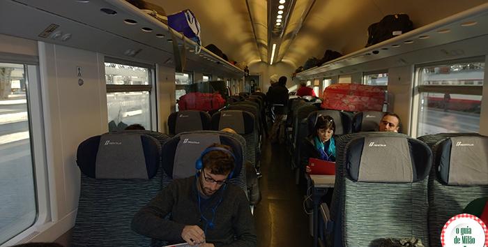 De Milão a Veneza de trem Viajar de trem pela Itália