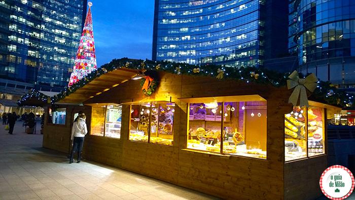 Feirinhas de Natal em Milão