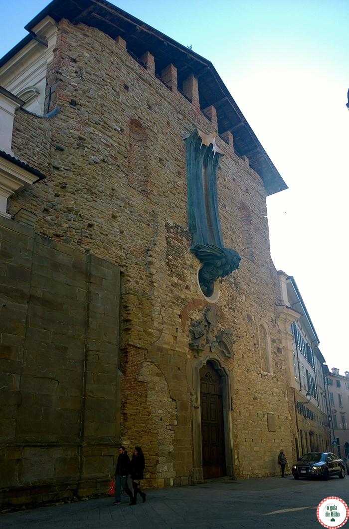 Fachada da igreja Santo Spirito