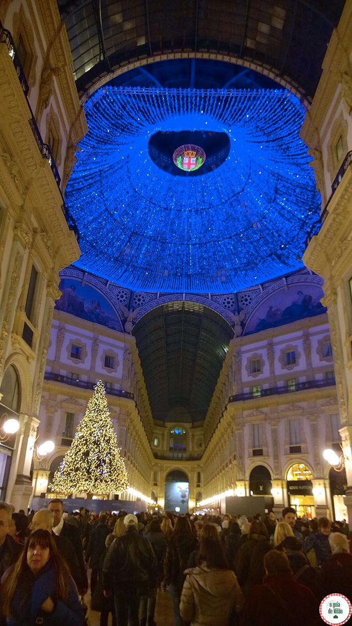 Iluminação Galeria Vittorio Emanuele II