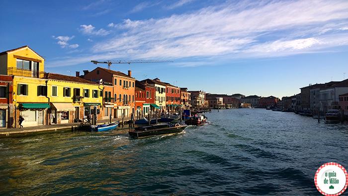 Caminhando por Murano