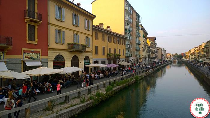Bairros de Milão Turismo em Milão O que ver em Milão Navigli Milão