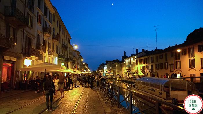 Blog de viagem de Milão Dicas de Milão Bairro Navigli em Milão