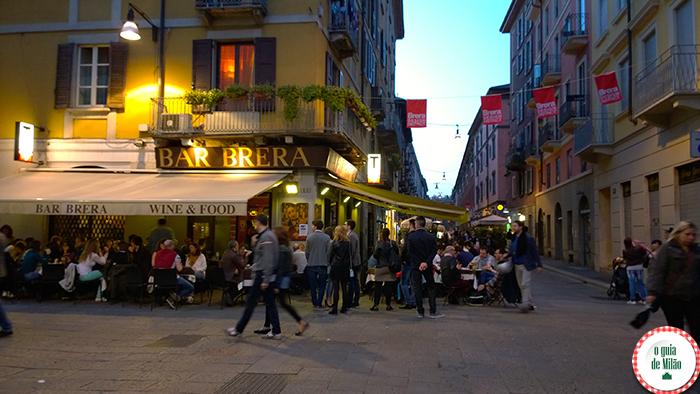 Brera Bairros de Milão O que ver em Milão Onde comer em Milão