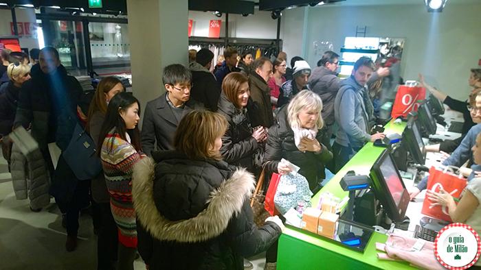 Dica de compras baratas em Milão Onde fazer compras em Milão Rua de compras em Milão Liquidação em Milão