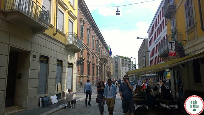 Brera Bairros de Milão Pontos turísticos em Milão Turismo em Milão O que fazer em Milão