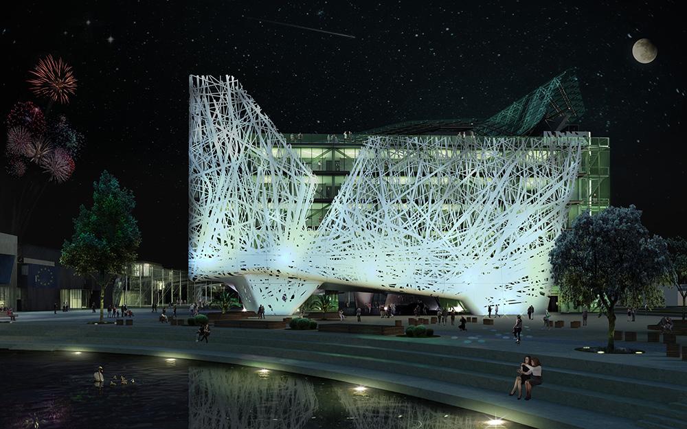 Projeto do pavilhão da Itália Expo 2015 (www.padiglioneitaliaexpo2015.com)