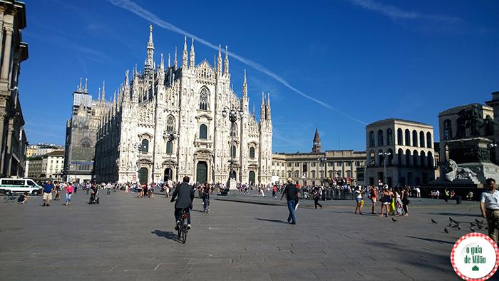 O que fazer em Milão Centro de Milão O Duomo de Milão