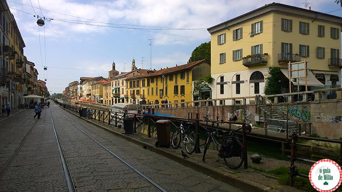 O que fazer em Milão Navigli Milão à noite Blog de viagem de Milão