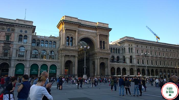 Os principais pontos turísticos de Milão Onde fazer compras em Milão A galeria Vittorio Emanuele Centro histórico de Milão