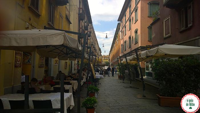 Turismo em Milão O que fazer em Milão Onde comer em Milão Bairros de Milão Brera