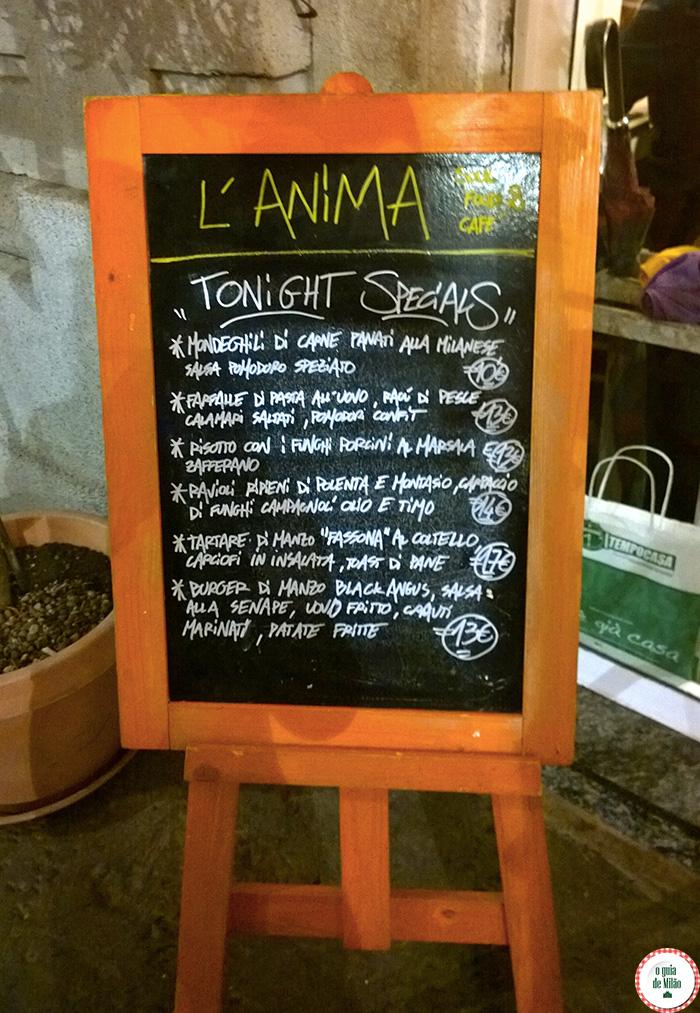 Dica de restaurantes em Milão Blog de viagem de Milão Onde comer em Milão