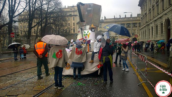 Turismo em Milão O Carnaval de Milão 2015