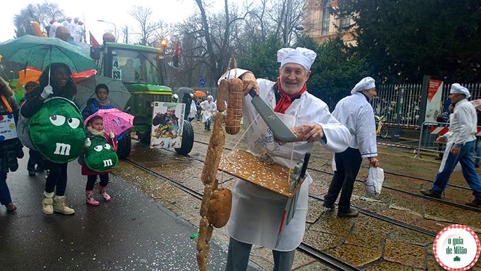 Turismo na Itála O Carnaval de Milão