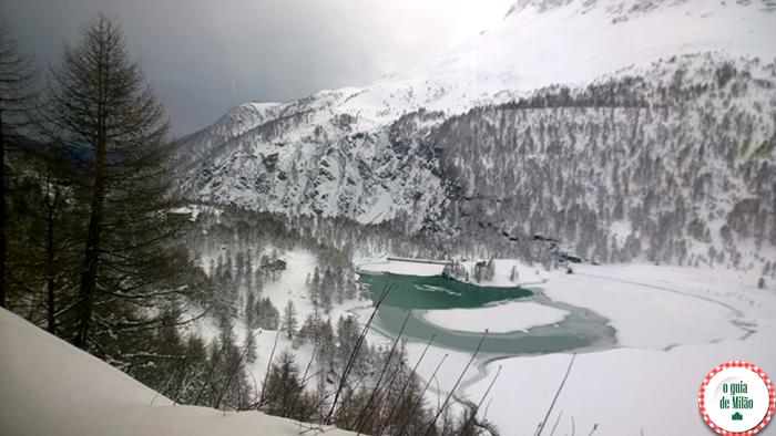 Bernina Express Patrimônio Mundial da Humanidade pela UNESCO na Itália