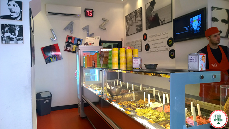 as melhores sorveterias de Milão La Gelateria della Musica