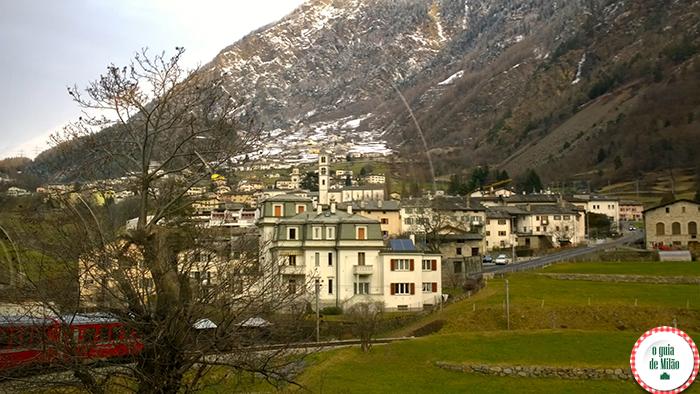 Turismo na Suíça De Milão a Saint Moritz com direito ao Bernina Express
